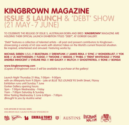 Gorker_KINGBROWN_flyer_back